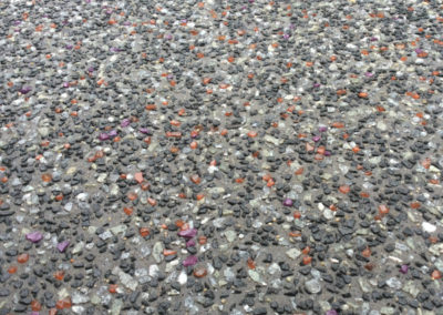 Glass Concrete Aggregate Schneppa Recycled Crushed Glass